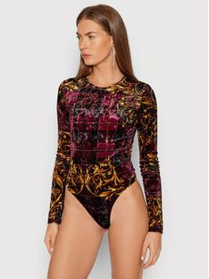 Versace Jeans Couture Body 71HAM221 Bordowy
