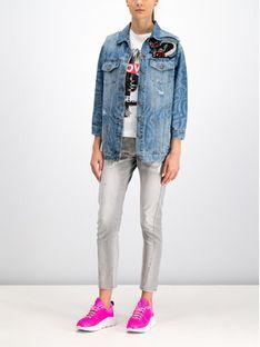 John Richmond Kurtka jeansowa RWP19272GB Niebieski Regular Fit