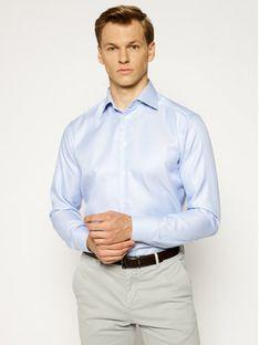 Eton Koszula 316979511 Niebieski Slim Fit