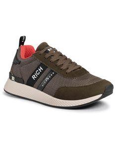 John Richmond Sneakersy 3126/CP B Zielony