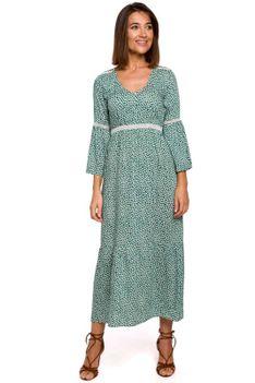 Sukienka Maxi w Stylu Boho - Model 1