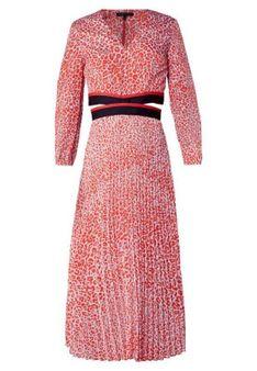 maje - Długa sukienka - czerwony