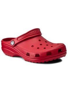Crocs Klapki Classic 10001 Czerwony