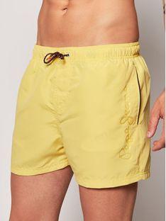 Pepe Jeans Szorty kąpielowe Bryan PMB10236 Żółty Regular Fit