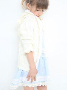Biały dziecięcy sweter z kapturem Anima by Justyna Steczkowska