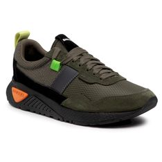 Sneakersy DIESEL - S-Kb Low Run Y02359 P3836 T7433 Ivy Green
