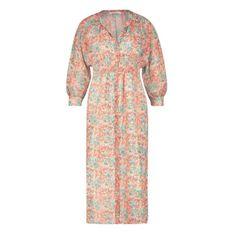 Mae flower paint dress
