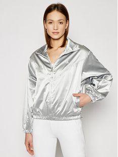 Calvin Klein Jeans Kurtka przejściowa J20J215649 Srebrny Regular Fit