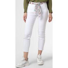 Spodnie damskie Rosner białe