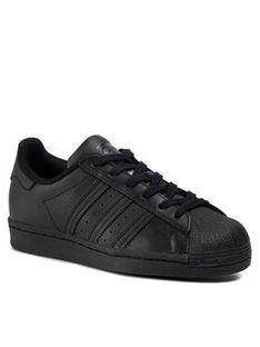 adidas Buty Superstar J FU7713 Czarny