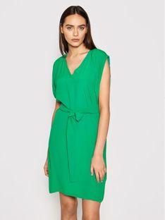 Marella Sukienka codzienna Editto 32213412 Zielony Regular Fit