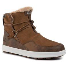 Śniegowce JACK WOLFSKIN - Auckland Wt Texapore Boot W 4035771 Desert Brown/White