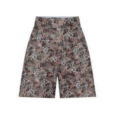shorts in broccato