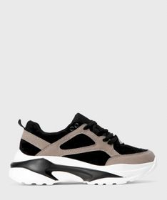 Multikolorowe sneakersy damskie