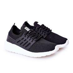 Dziecięce Sportowe Buty Sneakersy Big Star HH374216 Czarne