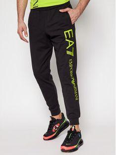 EA7 Emporio Armani Spodnie dresowe 8NPPC1 PJ05Z 1202 Czarny Regular Fit