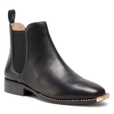 Sztyblety COACH - Nichole Leather G5361 BLK Black