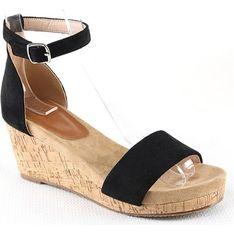 Sandały damskie Foreverfolie czarny