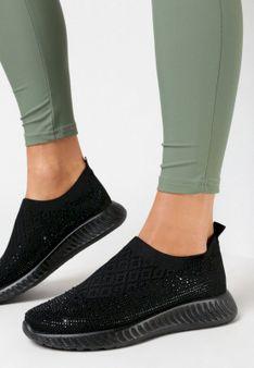 Czarne Buty Sportowe Wysneth