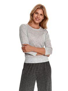 Sweter długi rękaw damski   luźny