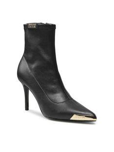 Versace Jeans Couture Botki 71VA3S51 Czarny