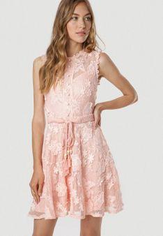 Różowa Sukienka Laocea