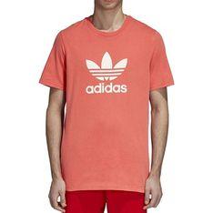 T-shirt męski adidas pomaranczowy