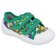 Befado obuwie dziecięce  907P122 zielone