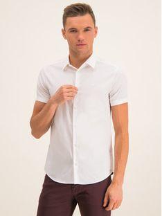 Emporio Armani Koszula 8N1C10 1N06Z 0100 Biały Slim Fit
