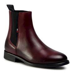 Sztyblety TOMMY JEANS - Essential Dressed Chelsea Boot EN0EN01103 GRV