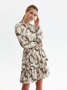 Sukienka w nadruk paisley