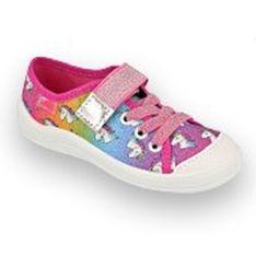Befado obuwie dziecięce 251X178 różowe