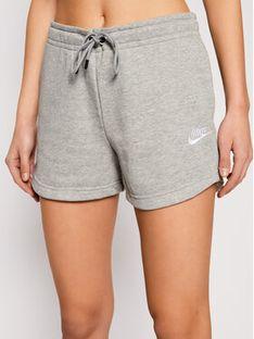 Nike Szorty sportowe Sportswear Essential CJ2158 Szary Standard Fit