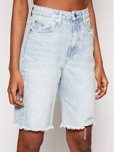 Tommy Jeans Szorty jeansowe Harper Denim Bermuda DW0DW10086 Niebieski Regular Fit