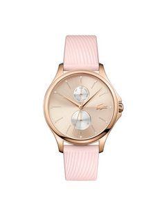 Lacoste Zegarek Kea 2001025 Różowy