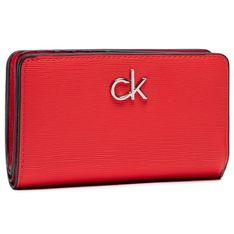 Duży Portfel Damski CALVIN KLEIN - Billford French Wallet K60K608086 XA7