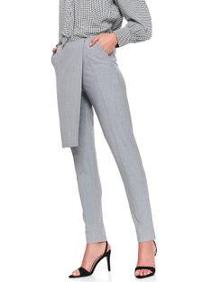 Spodnie długie damskie zwężane