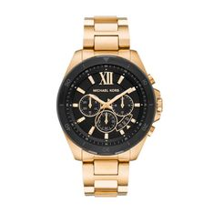 Zegarek MICHAEL KORS - Brecken MK8848  Gold/Black