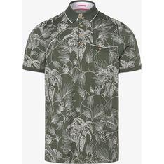 T-shirt męski Ted Baker zielony z krótkim rękawem