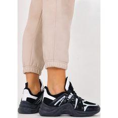 Buty sportowe damskie Casu sneakersy na płaskiej podeszwie sznurowane