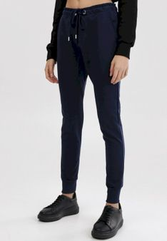 Granatowe Spodnie Peilophi