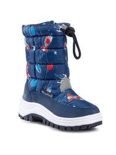 Playshoes Śniegowce 193012 Niebieski