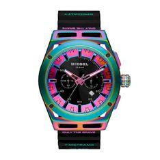 Zegarek DIESEL - Timeframe DZ4547 Black/Purple