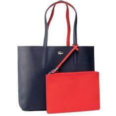 Torebka LACOSTE - Shopping Bag NF2142AA Peacoat Salsa B50