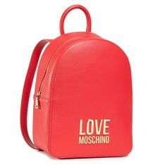 Plecak LOVE MOSCHINO - JC4109PP1CLJ050A  Rosso