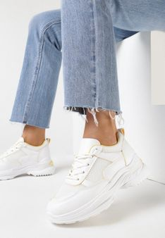 Białe Sneakersy Ianra