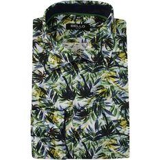 Koszula męska Bello w stylu młodzieżowym w kwiaty