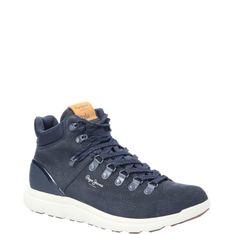 Pepe Jeans London Skórzane buty trekkingowe HIKE