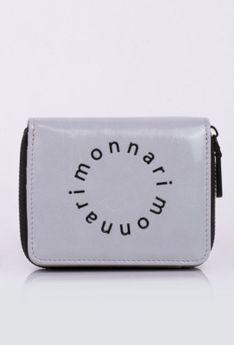 Mały portfel z logo marki Monnari