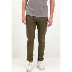 Spodnie męskie Garcia brązowe jesienne casual